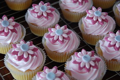 Pink Cupcakes (TheLittleCupcakery) Tags: pink cupcakes little tlc cupcakery xirj klairescupcakes