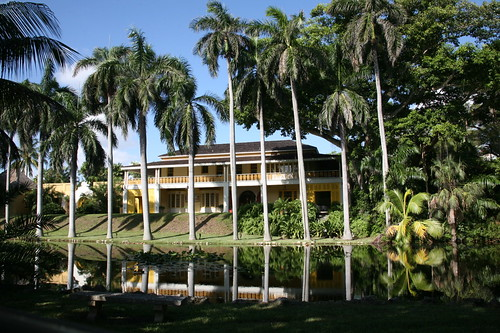 View of the Bonnet House Museum & Gardens in Fort Lauderdale, FL