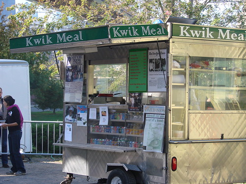 Kwik Meal Truck at Vendy's