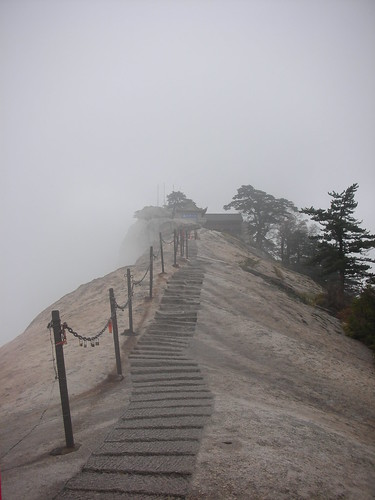 Hua Shan Plank Walk 48 - Approach to the West peak