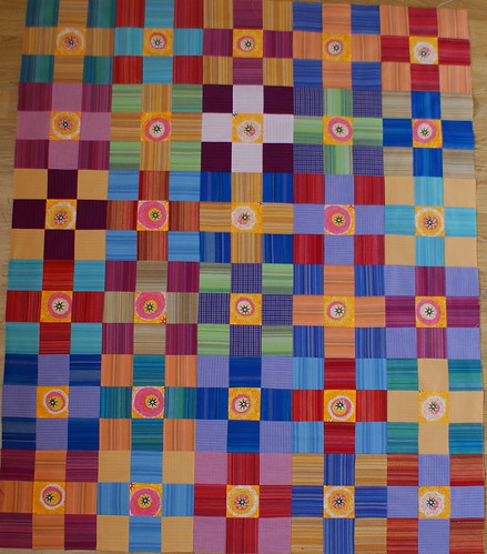 nine patch quilt