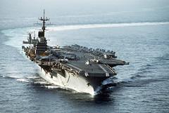 [フリー画像] [船舶/ボート] [軍用船] [航空母艦] [CVA-60 サラトガ] [CVA-60 USS Saratoga]      [フリー素材]