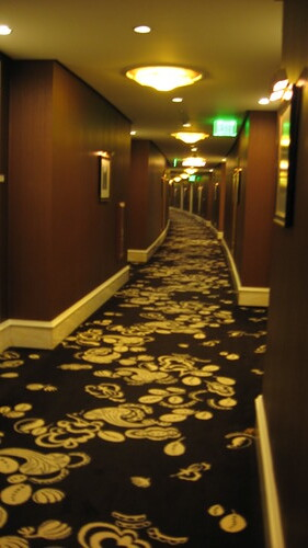 hallway of the Wynn towers