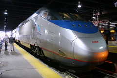 Acela Express #2018 (cliff1066) Tags: railroad electric train washingtondc centennial dc washington track diesel rail railway loco steam caboose amtrak railcar 100th locomotive boxcar unionstation engineer booster buffer highspeed bogie acela coupler railstation amtrac rollingstock alco mainline acelaexpress gennie shunt tiltingtrain americanlocomotivecompany aunit sw1000r unionstationcentennial highspeedtiltingtrain