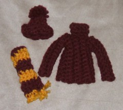 Hat, Scarf, & Sweater Ornaments