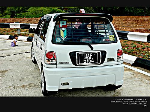 Perodua Viva Body Kit. custom ody kit.
