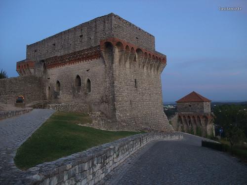 O castelo é majestoso