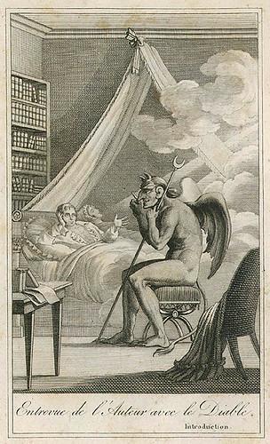 011- Entrevista del autor con el diablo- A.S. Collin de Plancy. Le Diable Peint par Lui-Même 1819