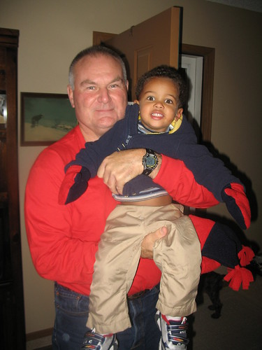 Grandpa and Robbie