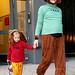 Jennifer Garner & Daughter Violet, 2008