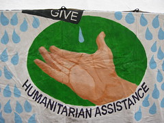 Humanitarian assistance painting