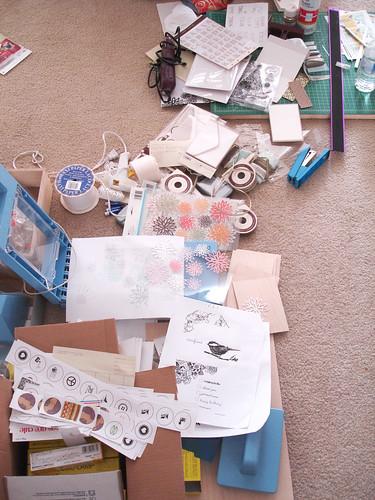 more mess.