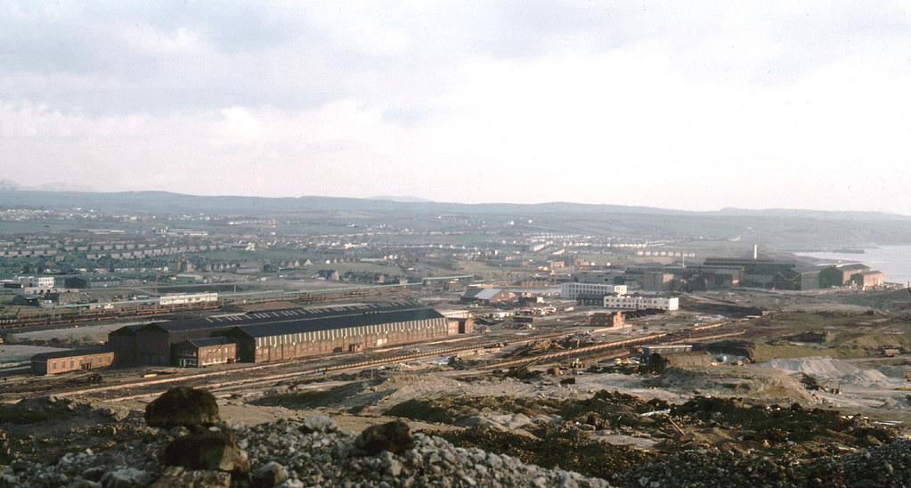 Central Engineering Workshops, Workington, Cumberland, 1984
