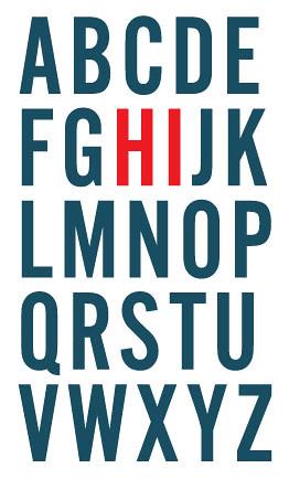 friendly alphabet