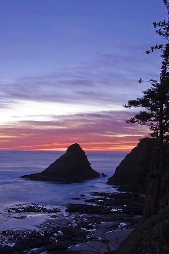 Ocean Sunset LR