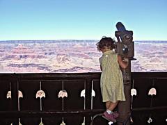 Canyon View (taranoel) Tags: life family vacation arizona nature girl kids jen view grandcanyon lookout canyon awe americanlifephotocontest taranoel