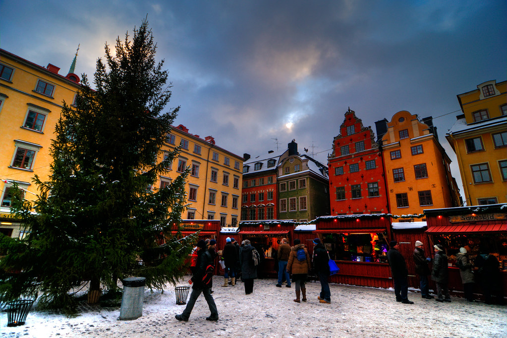 Julmarknad Stockholm Stortorget