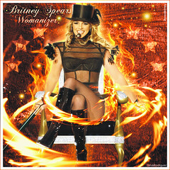 Britney Spears [Womanizer Bambi Awards] (© Omar Rodriguez V.) Tags: woman fashion rock star princess boots spears live fake pop queen bambi awards academy omar britney edit rodriguez slave womanizer ringleader slave4britney