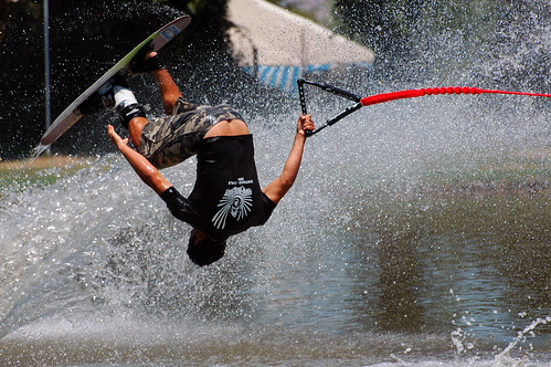 Deportes acuáticos puto duro