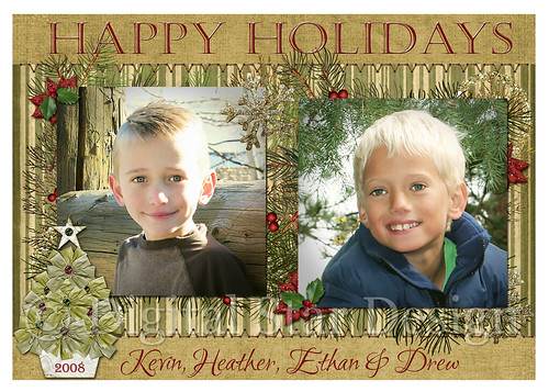 Christmas Card Example, 7x5, full-size