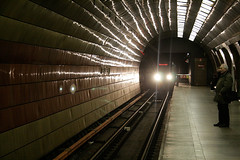 Ankunft U-Bahn