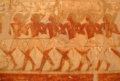 My photo is in Wikipedia...:) () () Tags: africa vacation orange holiday art archaeology expedition writing soldier temple march etching sand ancient ruins uniform flickr king tour desert drawing westbank military 911 egypt queen architect pharaoh wikipedia soldiers publicart september11 ramadan rtw wallpainting egitto 18thdynasty vacanze hieroglyphs hatshepsut soldaten roundtheworld ancientegypt afrique  hieroglyph antiquities wallpaintings globetrotter greathouse deirelbahri hatshepsutstemple templeofhatshepsut  runis