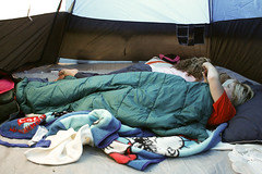 (Terin Talarico) Tags: morning camping summer arizona grandcanyon megan august roadtrip tent sleepingbags blankets denise drseuss 2008 catinthehat grandcanyonnationalpark