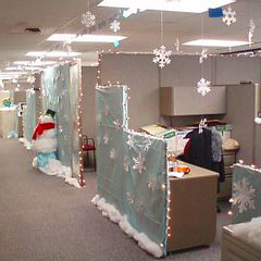 Model Decorations Ideas For Office Top 15 Office Christmas Decorating Ideas