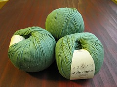 Rowan 4 Ply Cotton