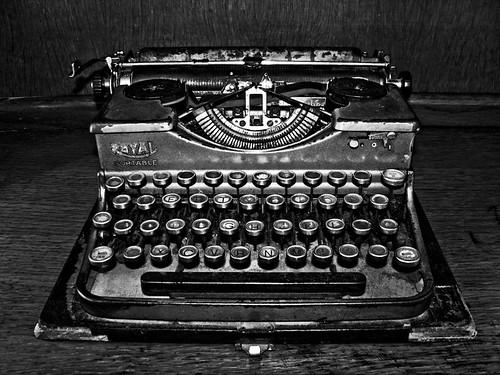 Maquina De Escribir. Maquina de escribir Royal