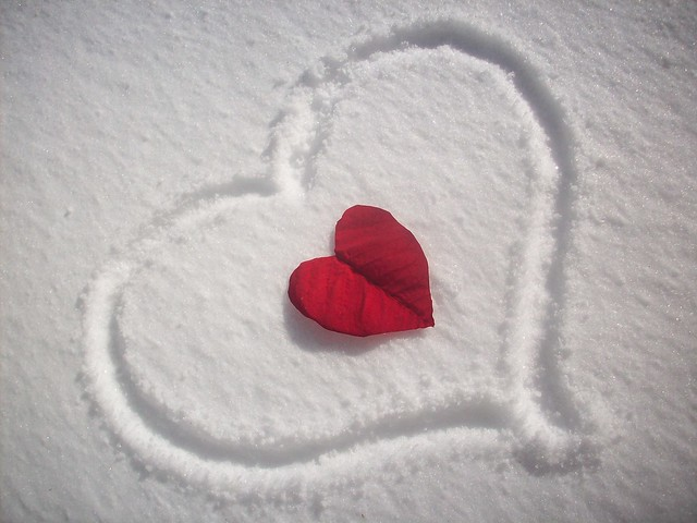 Cold Cold Heart / Frio Frio Corazon feliz dia del amor y la amistad, happy Valentine's day