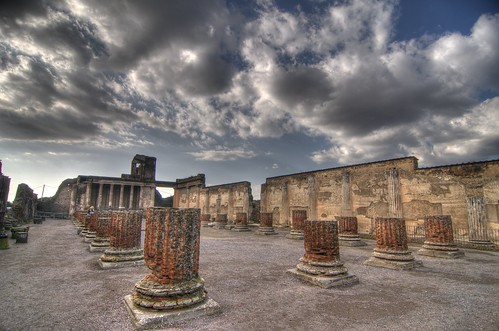 Pompeii. Basilica
