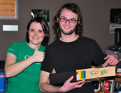 Google Jenga Prize