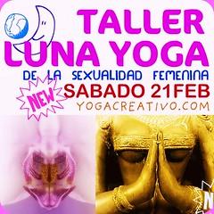 Mujer Yoga Luna