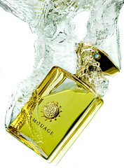 Amouage (U_SF) Tags: water yellow commercial freeze splash soe usf perfumes fragrance yousef supershot   mywinners abigfave  alhaqqan    amouage