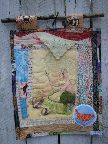 The Rose Queen on Mini Quilt Monday