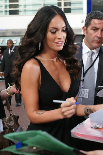 Transformers 2 Londres Megan Fox 13