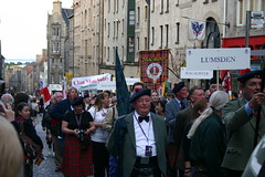 Clan Lumsden - The Clan Parade - The Gathering 09