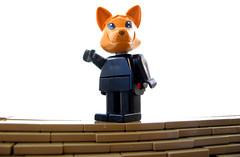 Kitsune Killer (Sir Nadroj) Tags: lego mark suit mecha mech stafford fabuland exoforce nabii fabuforce