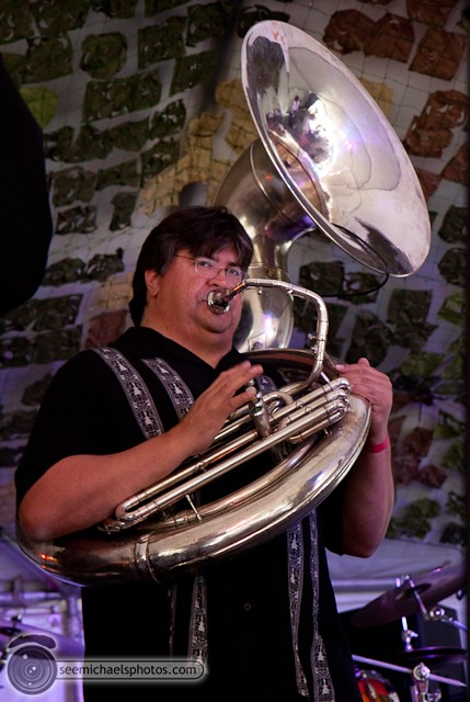 Euphoria Brass Band Show at Gator by the Bay 50811 © Michael Klayman-011
