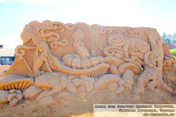 Annual Sand Sculpting Australia exhibition, Frankston waterfront-23