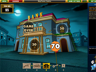 free Reel Gangsters slot game bonus round 3