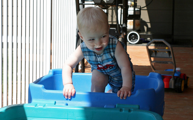 Braden James, get OUT of your water table!