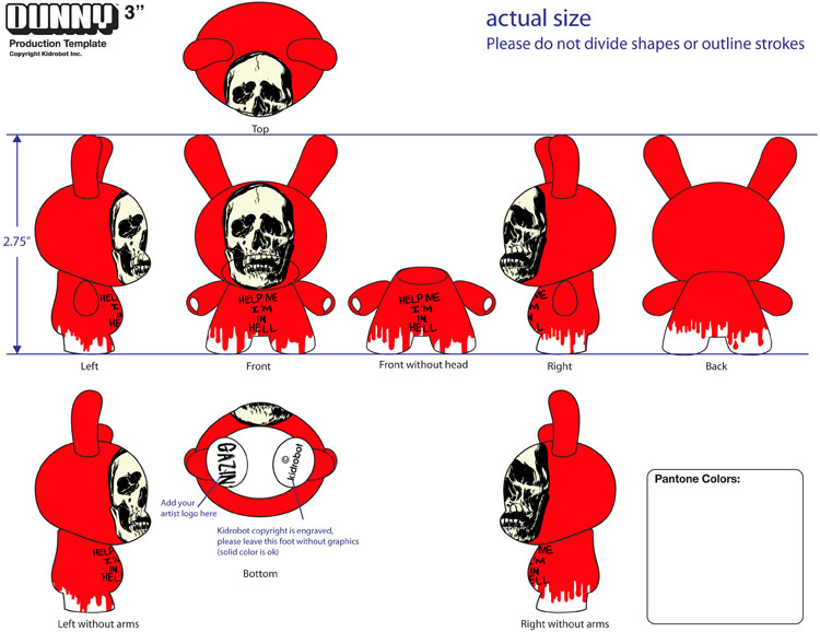 2010/06/10 Rejected Dunny Toy Design No. 03