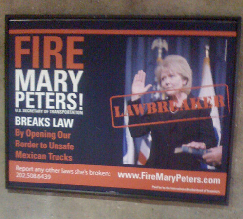 Fire Mary Peters