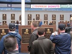 Yankees' Monument Park
