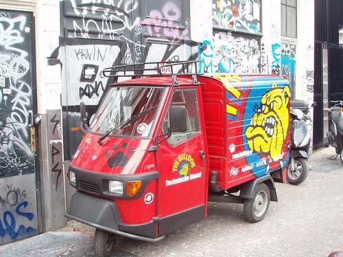 Motocarro del Bulldog en Amsterdam