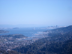 SF Bay from Mount Tamalpais State Park