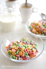 Fruit loops (*steveH) Tags: food breakfast colorful sweet cereals fruitloops steveh