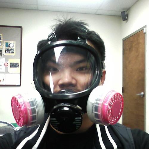 Will Chen 拍攝的 Gasmask。